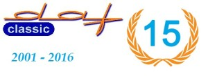 Logo classic daf 15 jaar